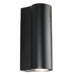 7874 10 03 Dream 1 LED Black Outdoor Wall Light