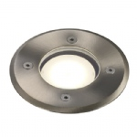 Pato Round Stainless steel Walk/drive over Light 83830034