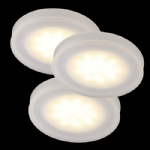 Thetis LED 3 Light Recessed Spotlights 8356 00 01