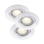 Triton LED 3 Light kit Recessed Spotlights