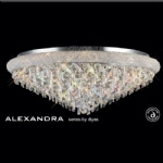Alexandra Crystal Ceiling 18 Light