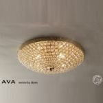 IL30756 Crystal Flush Ceiling Light