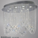 IL31392 Camilla Ceiling Crystal Light