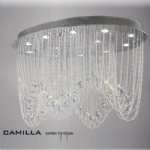 IL31393 Camilla Crystal Ceiling Light