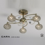 IL30945 Cara Crystal Ceiling Light