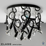 Class crystal ceiling Lights