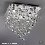 IL30788 Colorado Crystal Ceiling Light