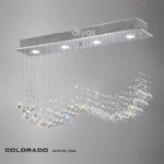 IL31379 Colorado Crystal 4 Light Pendant