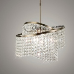 Cortina Crystal Pendant Light IL30094