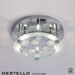 IL30984 Destello Crystal Ceiling Light
