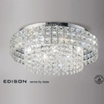 IL31151 Edison Crystal Ceiling Light
