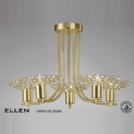 IL20602 Ellen 5 Light Multi Arm