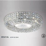IL31201 Enya Crystal Flush Light