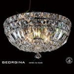IL31482 Georgina Crystal Ceiling Light