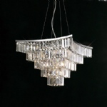 IL30643 GIANNI PENDANT CRYSTAL LIGHT