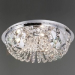 Cosmos Five Light Crystal Ceiling Light IL30043
