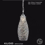 Kudo Crystal Non Electric Pendant IL60005