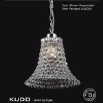 Kudo Non Electric Crystal Pendant IL60010