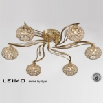 Leimo 6 Light Semi Flush Ceiling Light