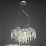 IL30254 Maddison Crystal Pendant 6 Light