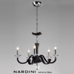 Nardini 5 Arm Ceiling Light