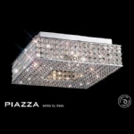 IL30431 Piazza Crystal Ceiling Light