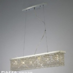 IL30433 Piazza Crystal Ceiling Pendant