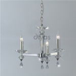 IL30593 Renzo Crystal Ceiling Light