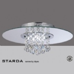 Starda 8 Light Circular Semi Flush