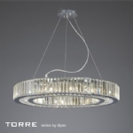 IL30099 Torre 10 Light Crystal Pendant