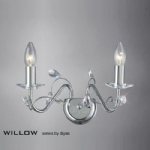 IL31212 Willow Double Wall Light