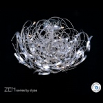ZEN Chrome CEILING LIGHT IL50116