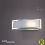 Duna Modern Chrome Wall Light M0393