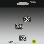 Lupin Triple light Ceiling Pendant