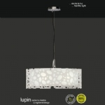 M1362 Lupin White Ceiling Pendant