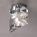 M0897 Kromo Chrome Semi Flush Light