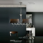 Paola 6 Light Ceiling Fitting