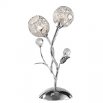Portia Polished Chrome Table Lamp 4084-17