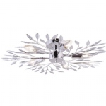 50015-17 Florence Flush Ceiling Light