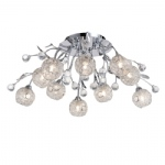 Portia Semi-Flush Ceiling Light 6084-17