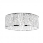6102-17 Lefes Chrome LED Large Crystal Light