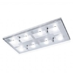 Chiron Flush LED Ceiling Light 6107-17
