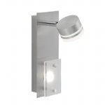 Trilok LED Wall Light Nickel 6315-55