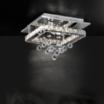 6580-17 Jola Ceiling Semi-Flush Light
