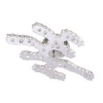 Jola LED Crystal Semi Flush 6599-17