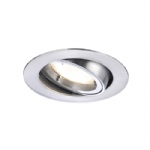 LED Recessed Pivotable Chrome Spotlight