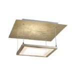 Nevis LED Gold Colour Ceiling Light 8134-12