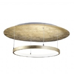 Nevis Circular LED Gold Colour Ceiling Light 8135-12