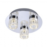Bilan LED Bathroom Triple Ceiling Light 8143-17