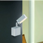 9135-55 Futura LED Wall Light Stainless Steel